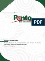 Aula Demonstrativa Portugues Tge