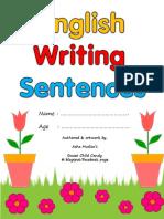 Writing Sentences Aa-Zz