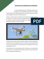 Ventajas y Desventajas de Los Drones en Las Empresas