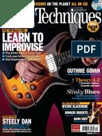 Guitar Techniques December 2012 Preview