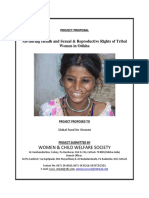 Project Proposal on Advancing Health and Sexual & Reproductive Rights of Tribal Women in Odisha