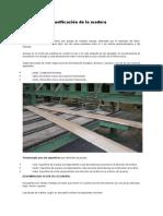 Dimensiones y Clasificación de La Madera