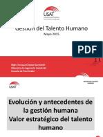 2-Diapositivas Maestria USAT - Gestion Del Talento Humano