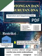 Biomolekul_squencing and Retriction