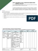 Inspectoria General 2018-2019