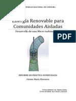 Energía Renovable Para Comunidades Aisladas