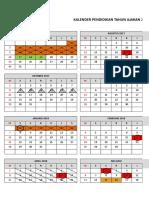 10. Kalender Pendidikan 2017-2018