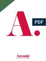Katalog Artemide Architectural 2017