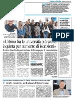 Urbino tra le università più scelte