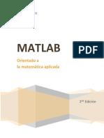 Matlab Orientado a la matemática aplicada - Andrés Pérez