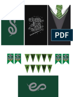Cake Topper Slytherin