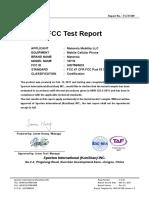 FCC Test Report JBP 3345166