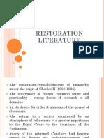 5 Restoration Literature 2
