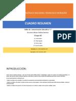 Cuadro Resumen de Modelos Educativos