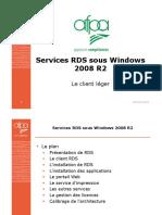 Services RDS Sous Windows 2008 R2-Part1