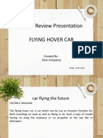 Flying Hover Car 01
