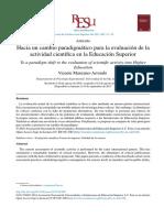 Artículo Revisión Indice de Impacto