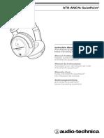 Audio-technica ATH-ANC7B Headphones