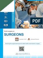 SurgeonsMeet 2018 Brochure