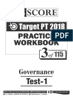 Test - 3 Governance Test-1