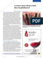 Wine & Viticulture Journal - Scientists question widespread planting of trunk disease infected grafted vines in Australia