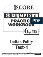 Test - 6_Indian Polity_Test-1