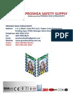 Proshea DC Catalog