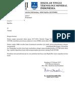 Contoh Surat Ijin Kunjungan