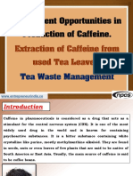 Investment Opportunities in Production of Caffeine