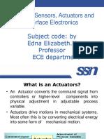 1. Actuators