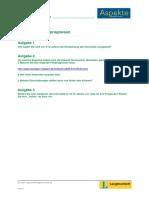 Aspekte2 k10 Internet-projekt