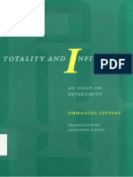Totality and Infinity an Essay on Exteriority