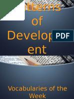 4. Patterns of Development