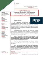 Lévothyrox Action Pénale