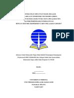 Contoh Laporan PKP UT PGSD IPA Materi Perpindahan Energi Panas Dengan Metode Eksperimen - Pemantaan Kemampuan Profesional PDGK4560