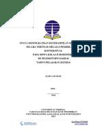 Contoh Karil UT PGSD - Karya Ilmiah Kelas II Pembelajaran Kontekstual