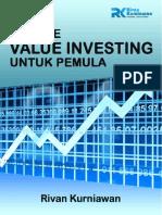 [E-Book] Metode Value Investing Untuk Pemula
