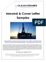 OIL & GAS SAMPLES - Resumes & Cover Letters.pdf
