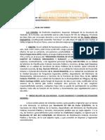 Denuncia Penal Viviendas Consorcio Villaguay