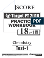 Test - 18 Chemistry Test-1