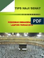 Materi Kesehatan Haji
