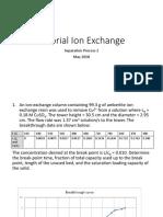 Tutorial Ion Exchange