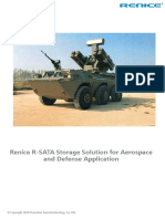 Renice R-SATA Storage Solution for Aerospace and Defense Application