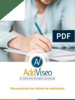 Guide - Personnalisez Vos Lettres de Motivation