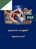 Coperta Repertoriu Coral