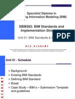 SBM383_Unit 01_BIM Standards Guidelines