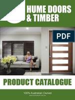Hume Doors Catalogue 2017
