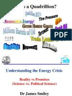 Understanding the Energy Crisis