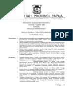 Perda Papua 007