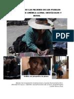 Situacion Mujeres Indigenas Al Judith Bocos